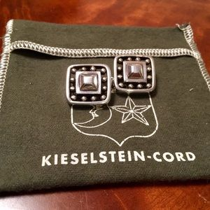 Kieselstein-Cord .925 Earrings Clip Ons Vintage